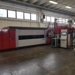 Impianto Laser automatizzato Mitsubishi